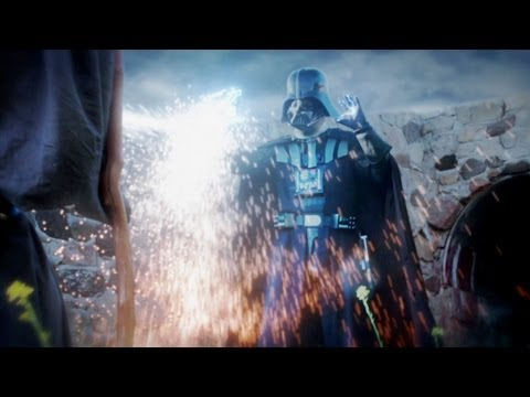 Darth Vader vs Gandalf – Live Action Battle