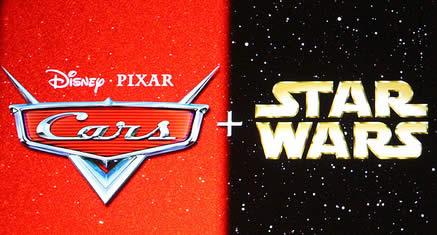 Personagens de Carros vão ganhar versão Star Wars