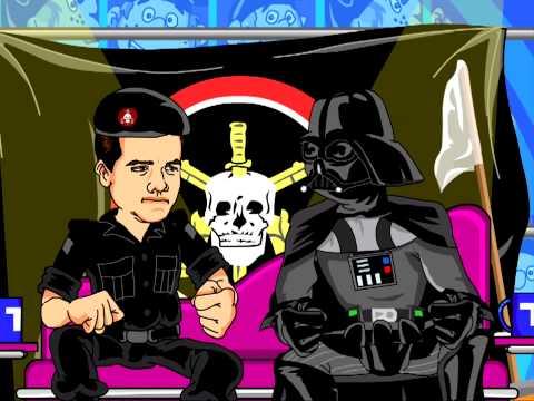 Capitão interroga - Darth Vader