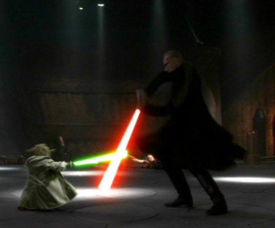 Formas de Combate com Sabres de Luz