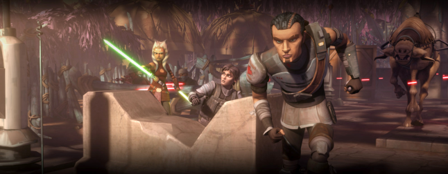 The Clone Wars S05E02 – A War on Two Fronts