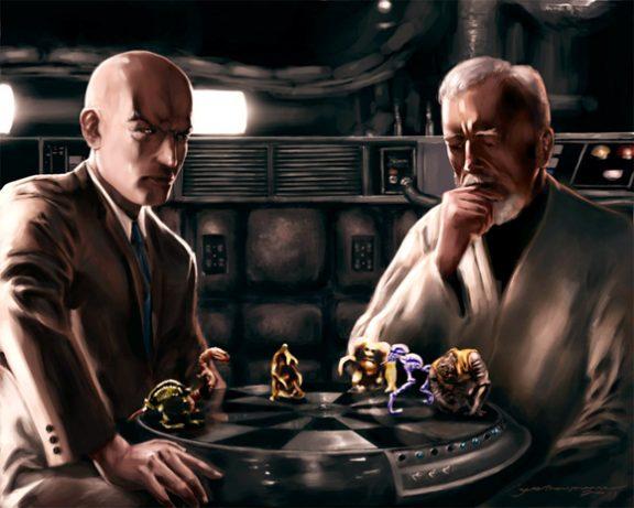 Artista cria embates entre Marvel e Star Wars