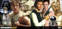 RapaduraCast 201 - Trinca: Star Wars IV, V e VI