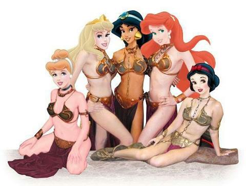 Princesas Disney ao melhor estilo Princesa Léia