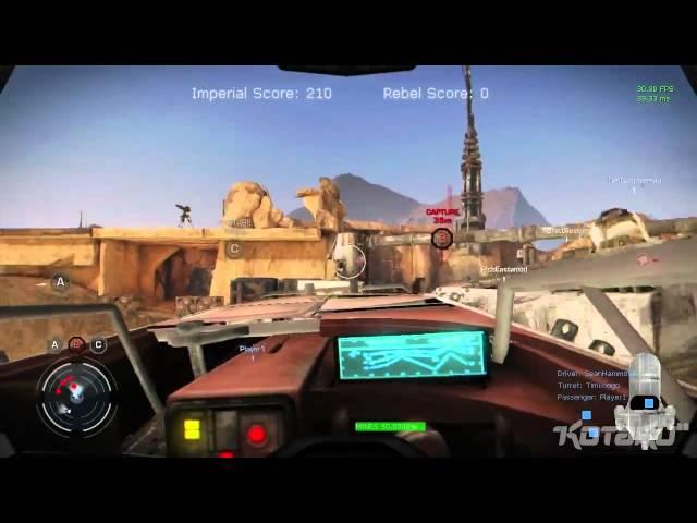 Assista a um trailer do game cancelado Star Wars Battlefront III