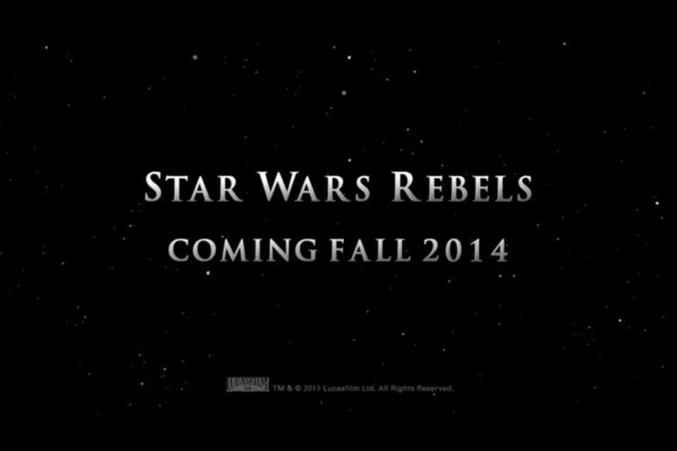 Nova série animada de Star Wars revelada: Star Wars Rebels