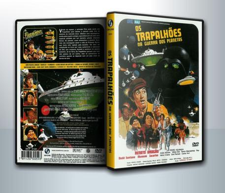 DVD Os Trapalhões na Guerra dos Planetas