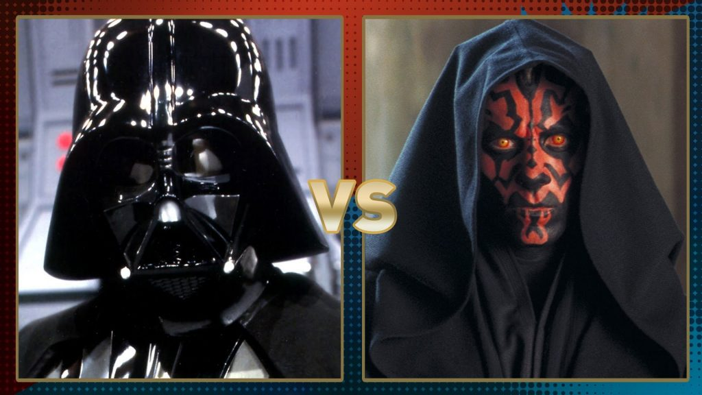O que aconteceria se.... Darth Vader e Darth Maul lutassem!!!