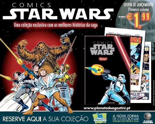 Coleção-Quadrinhos-Star-Wars