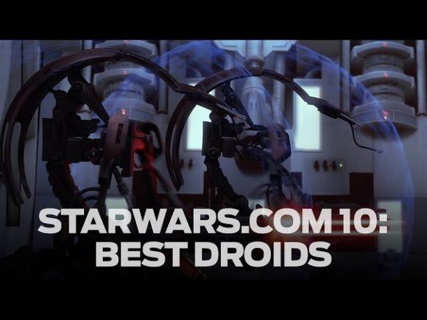 Canal de Star Wars no Youtube lança série de top 10