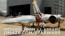 J.J. Abrams mostra X-Wing em novo vídeo de Force for Change