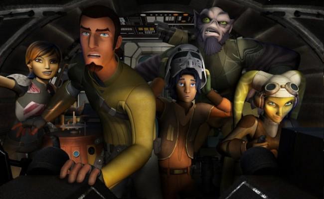 Anunciada as datas de estreia de Star Wars Rebels
