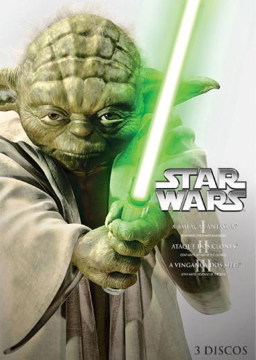 Trilogia Nova em DVD