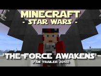 Trailer de The Force Awakens refeito em Minecraft