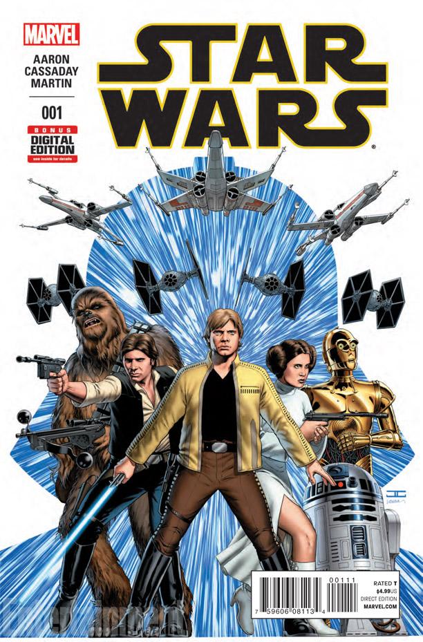 Star Wars está de volta à Marvel e já vendeu mais de um milhão de cópias