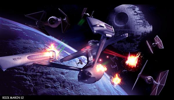 Star Wars vs Star Trek em um fan-trailer espetacular!