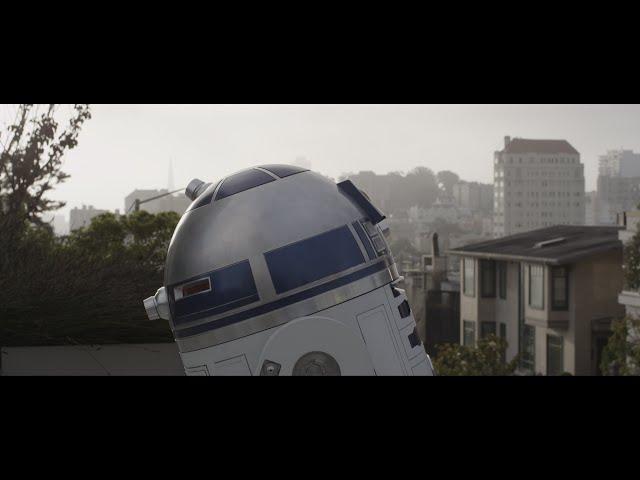 R2-D2 sofre de amor neste curta-metragem