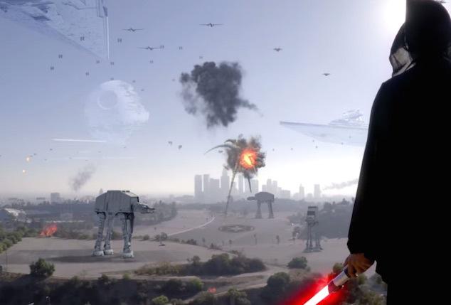 Invasão do Império Galáctico em Los Angeles