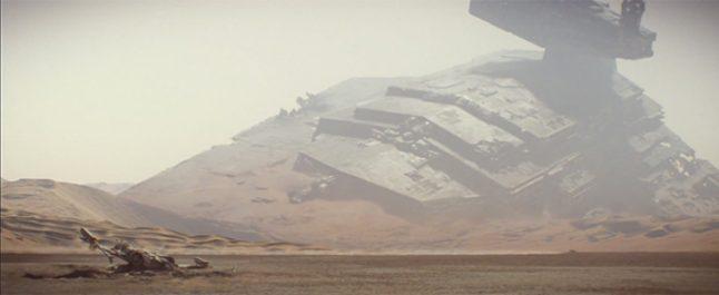 Arte conceitual revela planeta Jakku completamente diferente do filme
