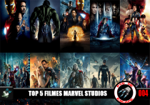 Pod de Escape 004 - Top 5 Filmes Marvel Studios