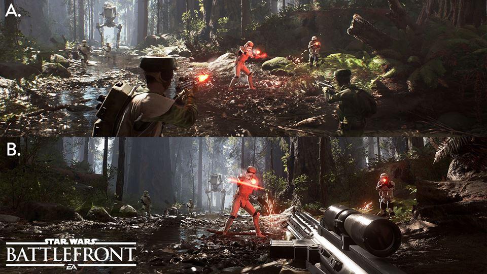 Armas de Star Wars Battlefront não terão mira