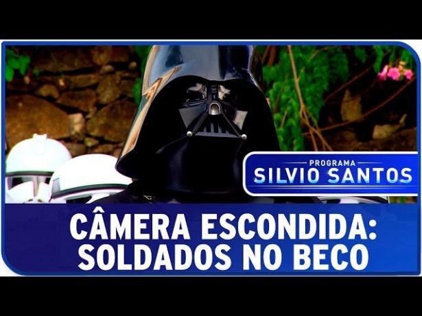 Personagens de Star Wars estrelam pegadinha de Silvio Santos
