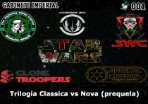 Gabinete Imperial 001 - Trilogia Clássica vs Nova (prequela)