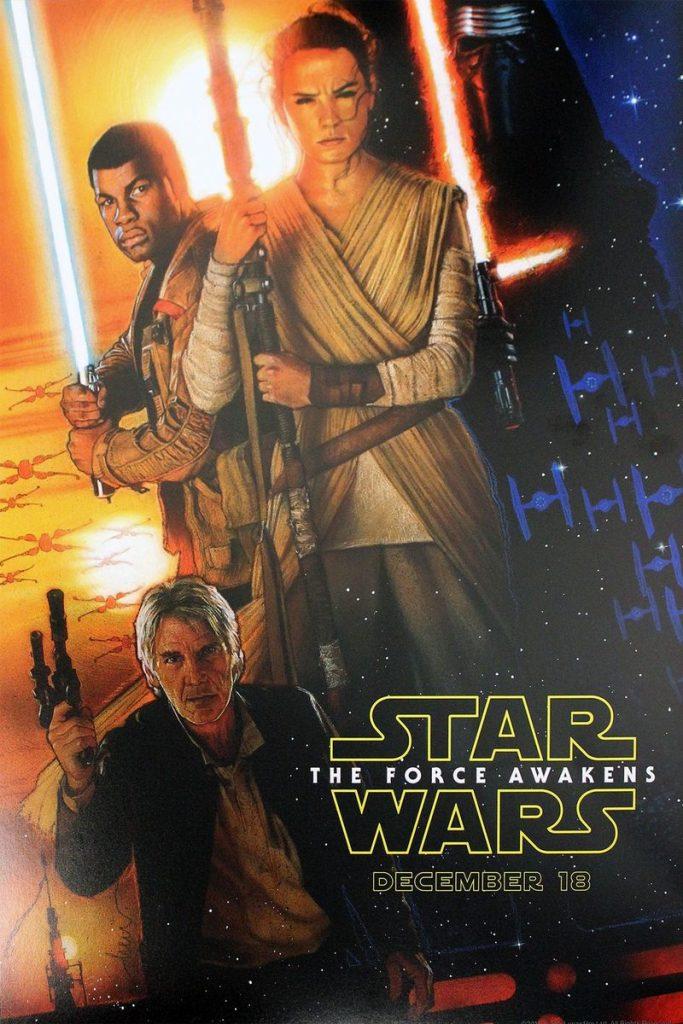 Primeiro poster de O Despertar da Força