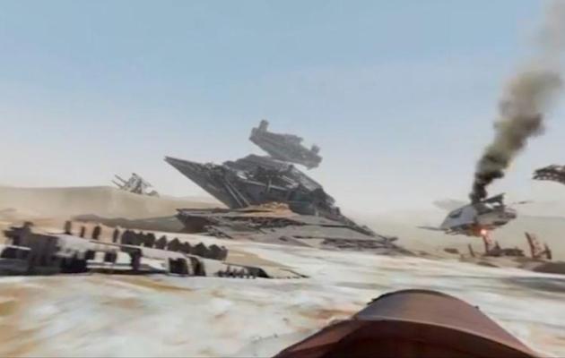 Vídeo 360 de O Despertar da Força mostra a perspectiva da Rey