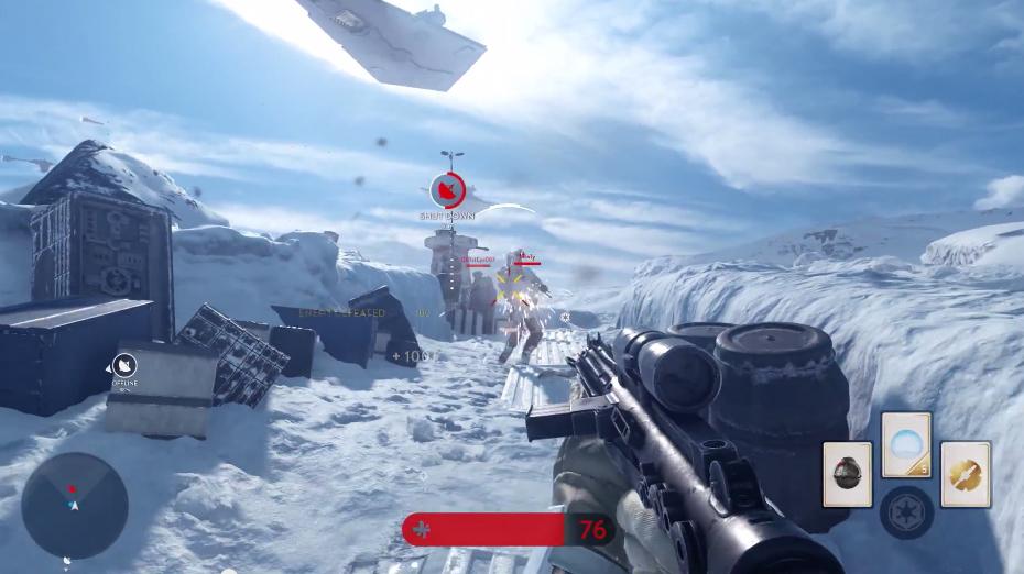 Beta de Battlefront será gratuito e terá modo offline