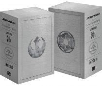 Pré-venda de caixa com os livros de Star Wars pela Bertrand