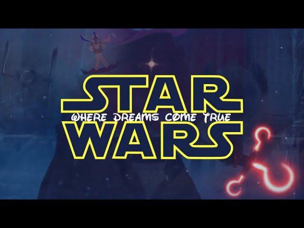 Personagens da Disney invadem trailer de O Despertar da Força