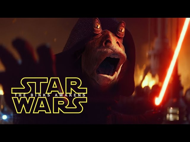 Novo trailer de Star Wars: The Binks Awakens
