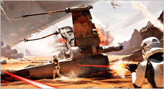 Batalha de Jakku em novo trailer de Battlefront