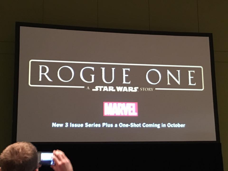 Marvel anuncia minissérie baseada no filme Rogue One