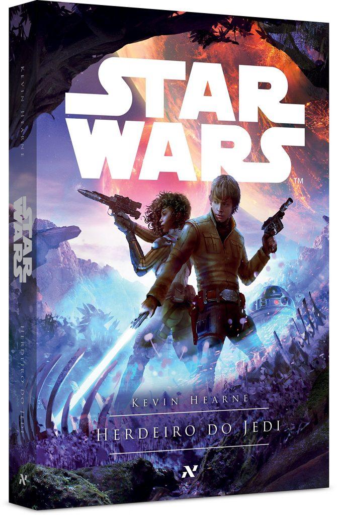 Livro Herdeiro do Jedi entra em pré-venda no Brasil