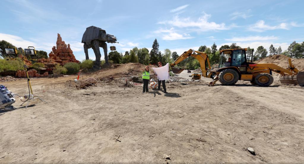 Disney inicia construção do parque temático de Star Wars