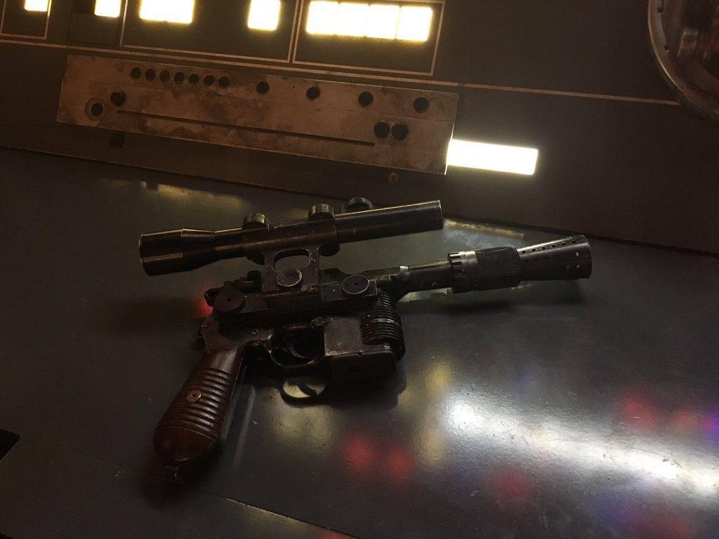 Divulgada imagem teaser do filme do Han Solo