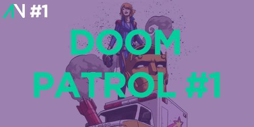 Capa Variante 001 – Doom Patrol 001
