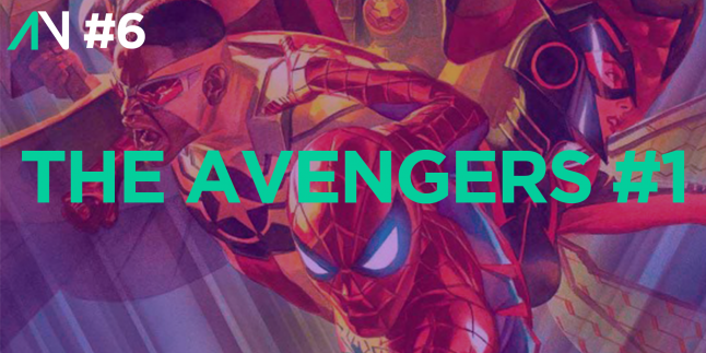 Capa Variante 6 – The Avengers 1