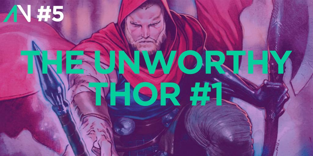 Capa Variante 5 - The Unworthy Thor 1