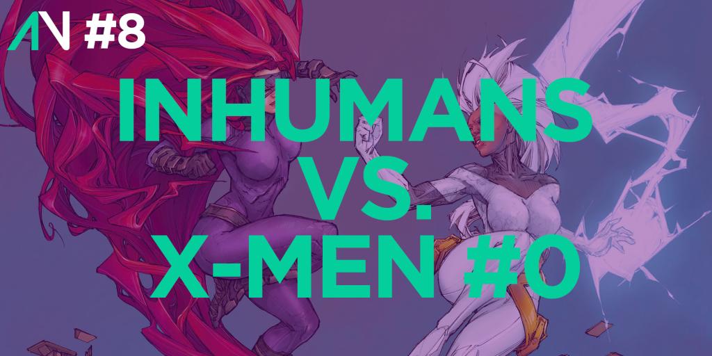 Capa Variante 8 - Inhumans vs. X-Men 0