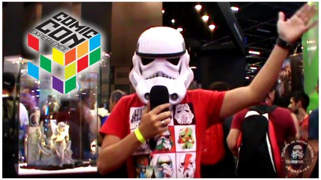 TrooperTV na Comic Con Experience 2016