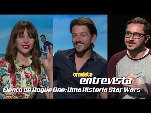 Elenco de Rogue One: Uma História Star Wars | Omelete Entrevista