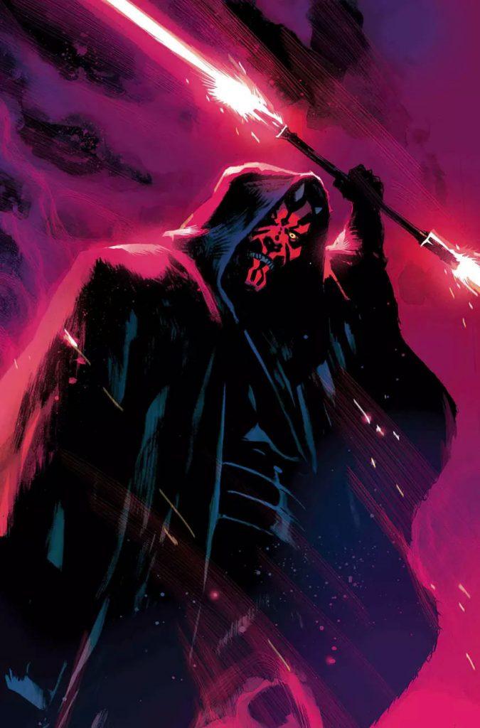 Marvel divulga as primeiras páginas da HQ de Darth Maul