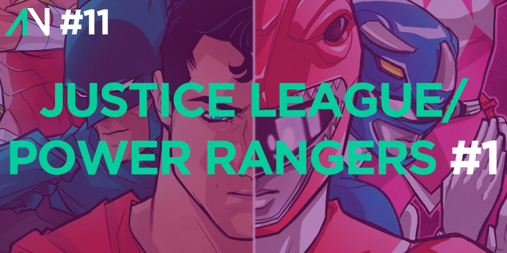 Capa Variante 11 – Justice League/Power Rangers 1