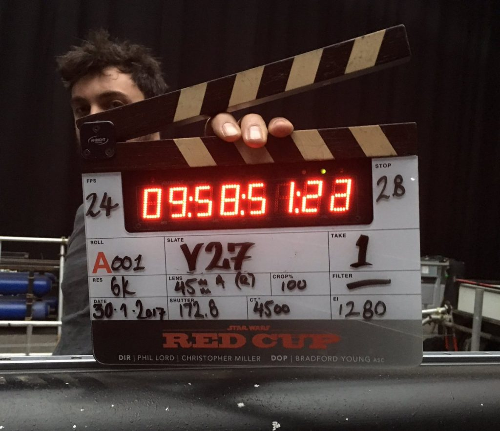 Começam as filmagens do filme de Han Solo