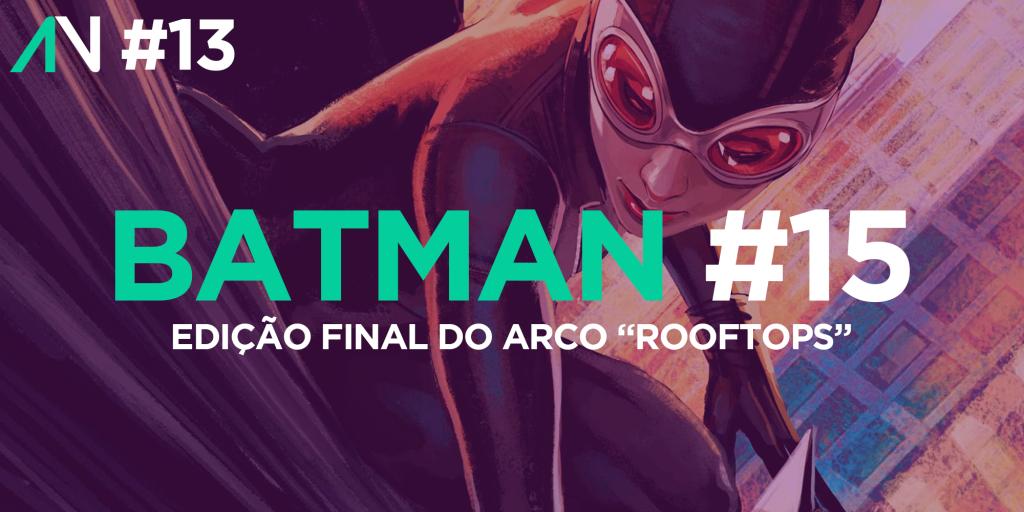 Capa Variante 13 - Batman 15