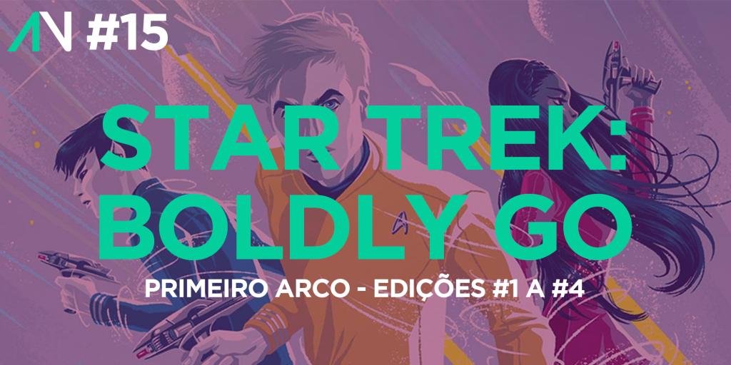 Capa Variante 15 - Star Trek: Boldly Go (Arco 1)