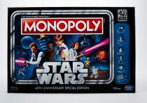 Monopoly terá edição especial em comemoração aos 40 anos de Star Wars